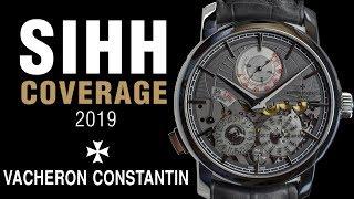 SIHH 2019: Vacheron Constantin Traditionnelle Twin Beat Perpetual Calendar