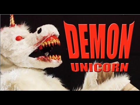 b15ba4d656c2 Demon Unicorn Ani-Motion ™ Mask! - YouTube