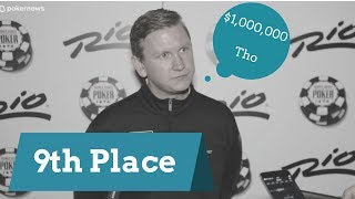 2017 WSOP:  9th Place Finisher Ben Lamb