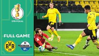 Borussia Dortmund vs. SC Paderborn 3-2 OT | Full Game | DFB-Pokal 2020/21 | Round of 16