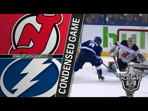 04/12/18 First Round, Gm1: Devils @ Lightning