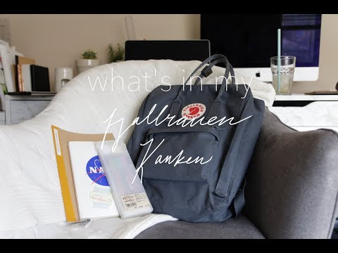What's In My Fjallraven Kanken (College Edition) ◇ Michelle Choi | The Seoul Search