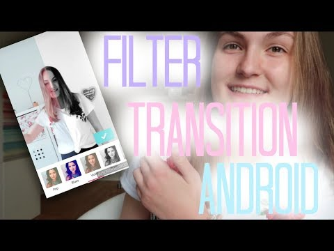 FILTER TRANSITION für ANDROID// 2 METHODEN// Musical.ly Deutsch Tutorial// creatis live