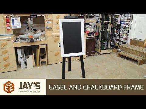 Easel and Chalkboard Frame - 255