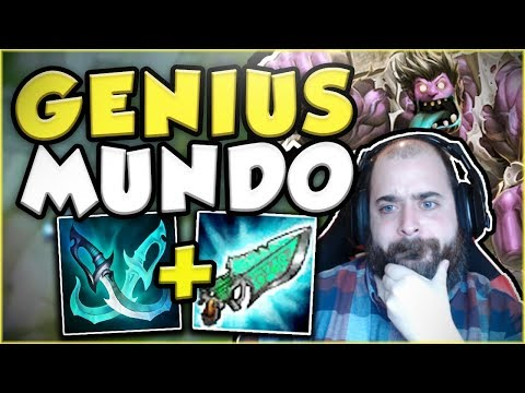 Download Youtube: PHANTOM BLADE MUNDO BUILD IS ACTUALLY GENIUS! BEST MUNDO TOP GAMEPLAY SEASON 7! - League of Legends