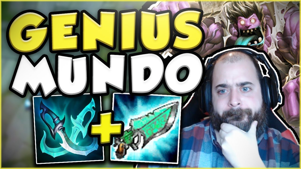 Phantom blade mundo build is actually genius best mundo for Mundo top build