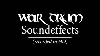 War-Drum Soundeffects [HD]