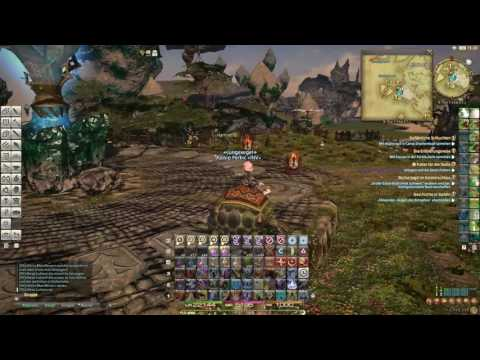 Final Fantasy 14 Realm Reborn (Turtle flying)