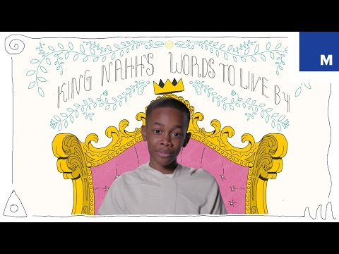Words To Live By from King Nahh, 10-Year-Old Motivational Speaker – Happiness