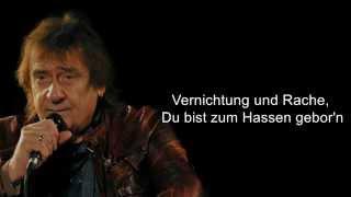 Puhdys feat. Till Lindemann - Wut Will Nicht Sterben (Lyrics)