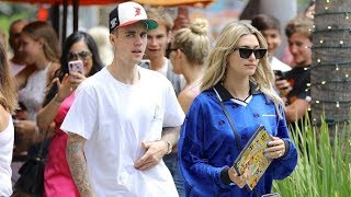 Justin Bieber Looking SUPER SKINNY During Lunch Date With Hailey Baldwin