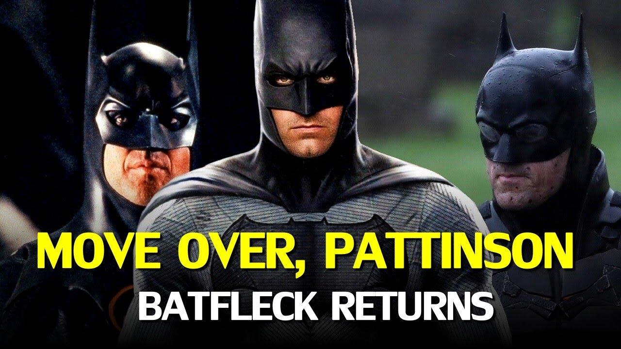 To Robert Pattinson's dismay, both Michael Keaton AND Ben Affleck might return as BATMAN!