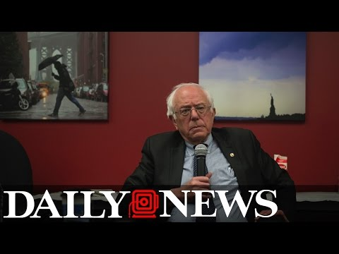Bernie Sanders Interview with New York Daily News Editorial Board (Full Audio)