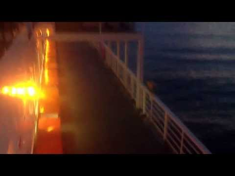 Sunrise on the Alaska marine highway mv columbia