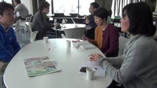 サンケイリビング新聞社からの取材 コワーキングスペース7F星野邦敏(1/2)