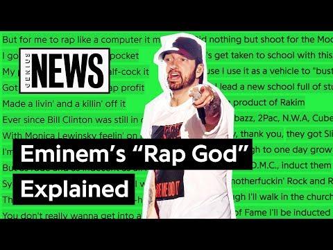 rap god genius