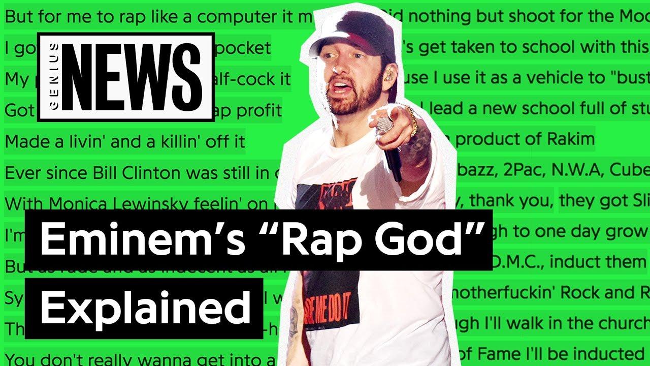 "a1eebaab Looking Back At Eminem's ""Rap God"" | Song Stories"
