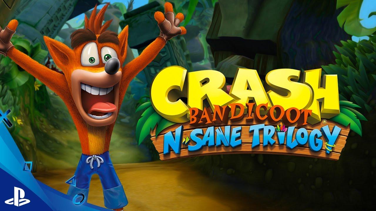 Crash Bandicoot N Sane Trilogy Trailer Del Juego Psx16 Youtube