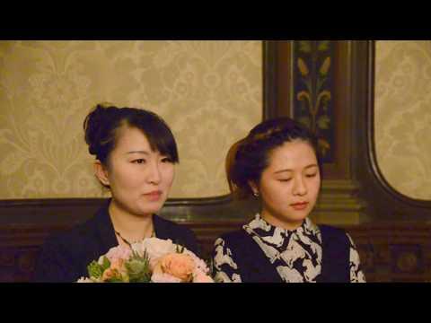 Sweden-China Bridge:瑞中文化经济体育高峰论坛开始黄斯斯和张月主持