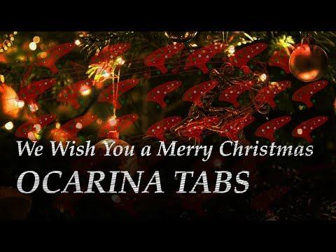 We Wish You a Merry Christmas - Ocarina tabs (12 Hole)