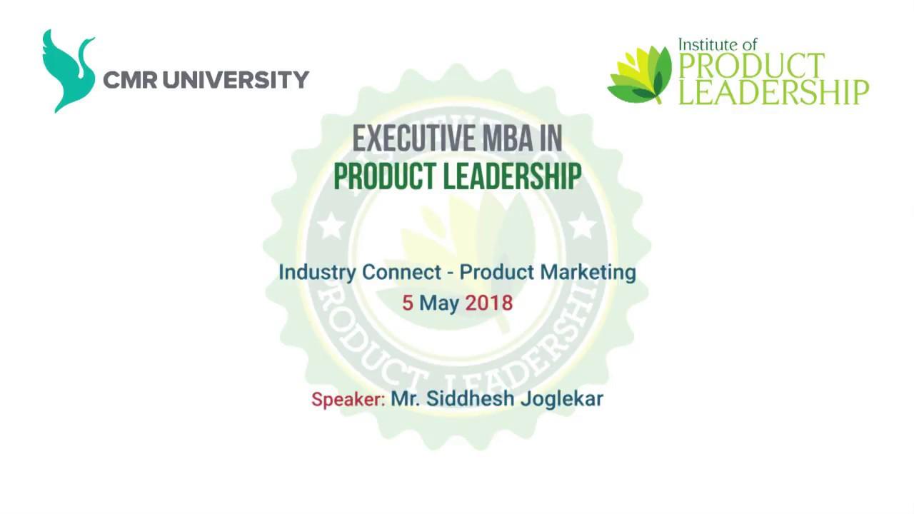 Industry Connect Product Marketing By Siddesh Joglekar 5