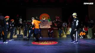 Critical Point vs. Funky Street Princez - LOCKING: Quarter final @SOUL COMBO VOL.3