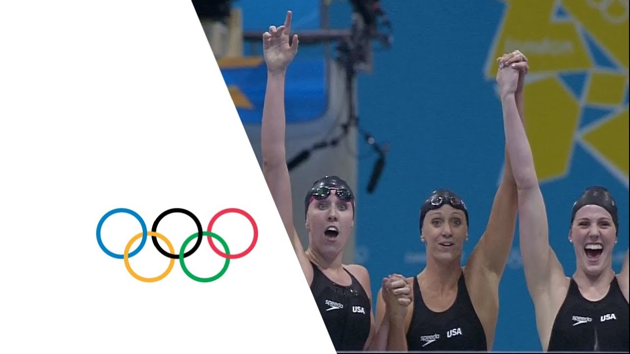 Women's 50 free olympic record