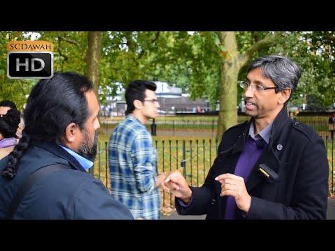 I Seen Jesus!! Shabir Vs Christian | Speakers Corner | Hyde Park
