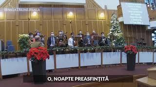 Orchestra Sfanta Treime Braila - O, noaptea preasfintita - 27 Decembrie 2020