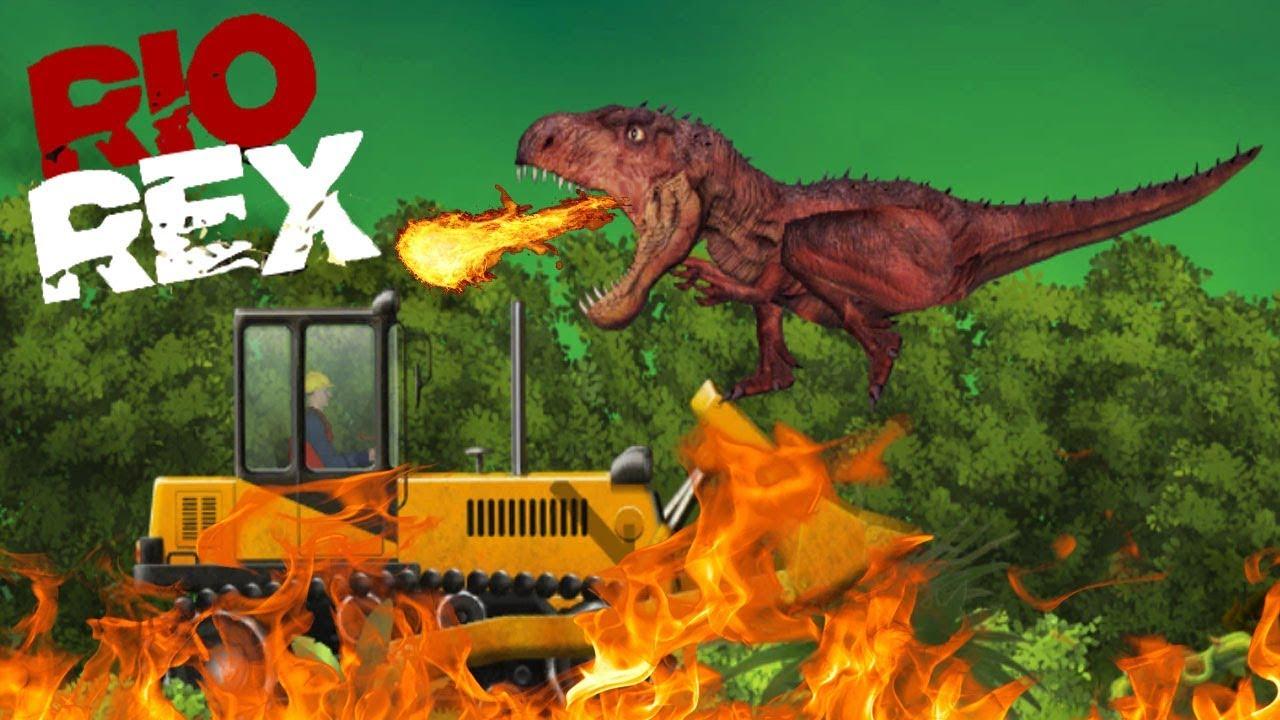 Rio Rex - Dinosaur Destruction And Rampage Game | Free Online Game By  Gametornado