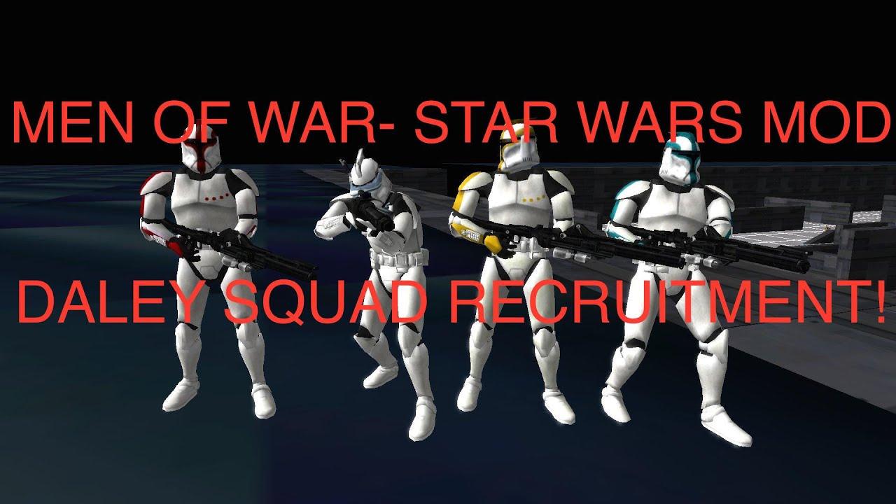 Men Of War: Assault Squad- Star Wars Mod~ Daley Squad Day ...