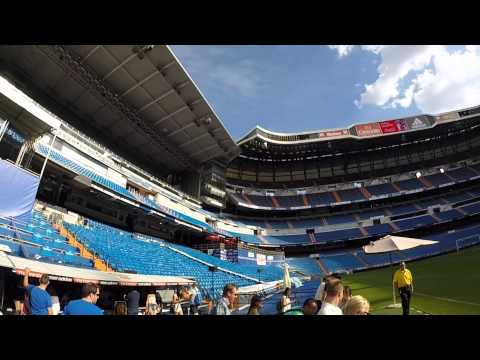 Real Madrid - Santiago Bernabeu Stadium Tour June 2015 by GoPro