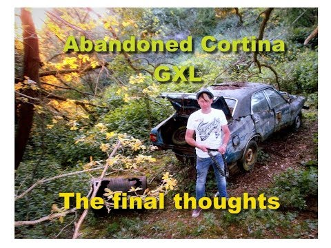Abandoned Car -Cortina GXL Final thoughts