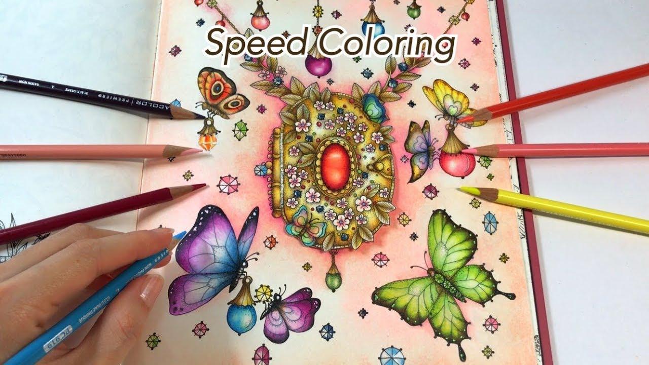 SPEED COLORING Butterflies Love
