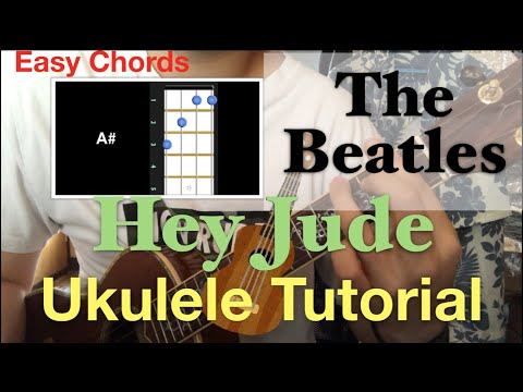 Lv.3 Hey Jude /The Beatles Ukulele Chords Tutorial