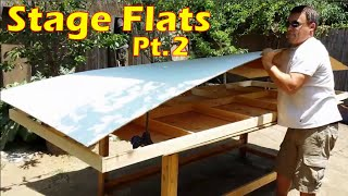 How To Build A Flat Or Wall Panel: Attaching Plywood To Frames