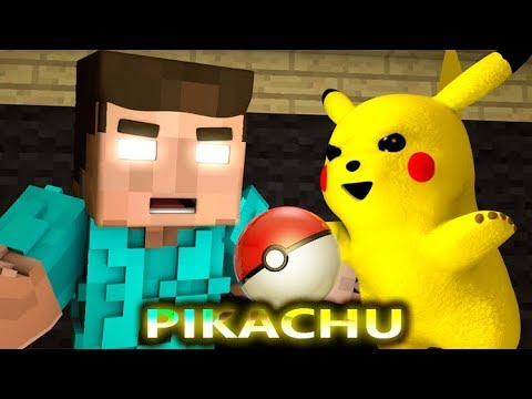 MONSTER SCHOOL VS DETECTIVE PIKACHU CHALLENGE! (official) Minecraft Horror Game Animation Video