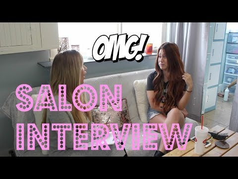 How NOT To Interview For A Salon Job! | BEAUTY SCHOOL SERIES