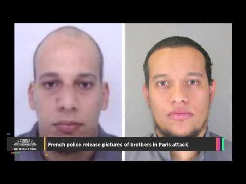 French Police Release Pictures of Brothers in Paris Attack - TOI