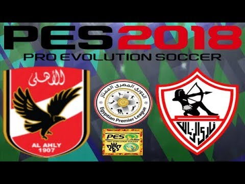 PS4 PES 2018 Gameplay Al Ahly SC vs Zamalek SC HD