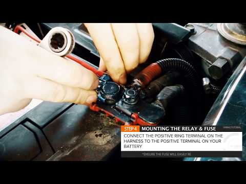 How to wire LED light Bar or Driving Lights to High Beam STEDI Quick Fit with Harness