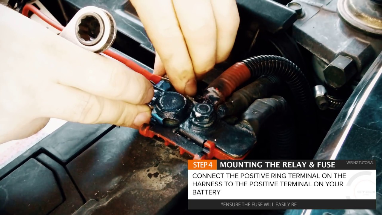 stedi blog quick fit high beam driving light wiring harness compatible with postive and negative switched vehicles [ 1280 x 720 Pixel ]