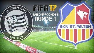 FIFA 17 Saisonprognose: Runde 1: ►Sturm Graz vs St. Pölten►