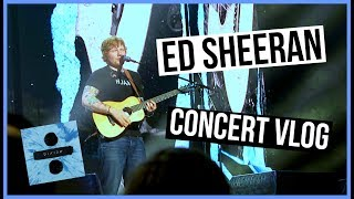 Ed sheeran divide tour concert vlog ♡