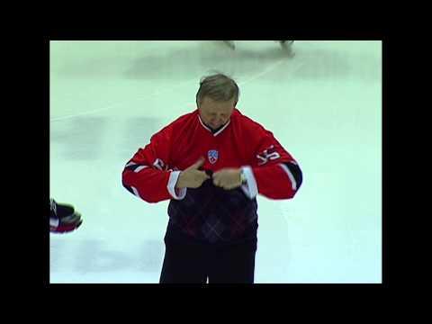 Поздравление Николая Крылова - ветерана свердловского хоккея - с юбилеем (65 лет)