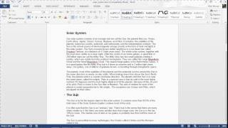 Quick Tip: Number tнe Headings of your Word Document