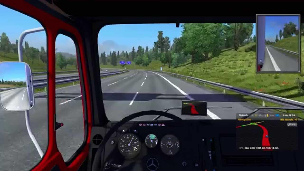 Mercedes Truck: Ets 2 Mercedes Truck Mod