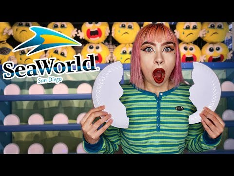 Break A Plate, Win Giant Prize At SeaWorld!