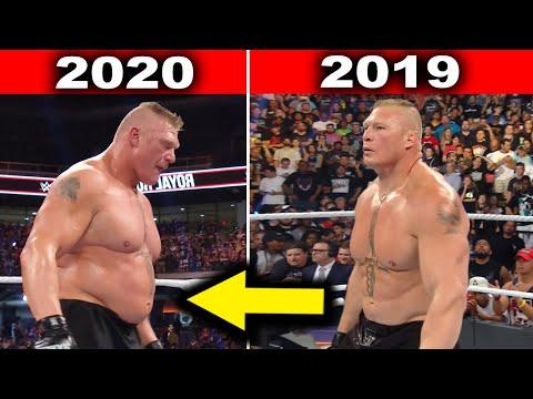 10 Surprising WWE Body Transformations 2020 - Brock Lesnar, John Cena & more
