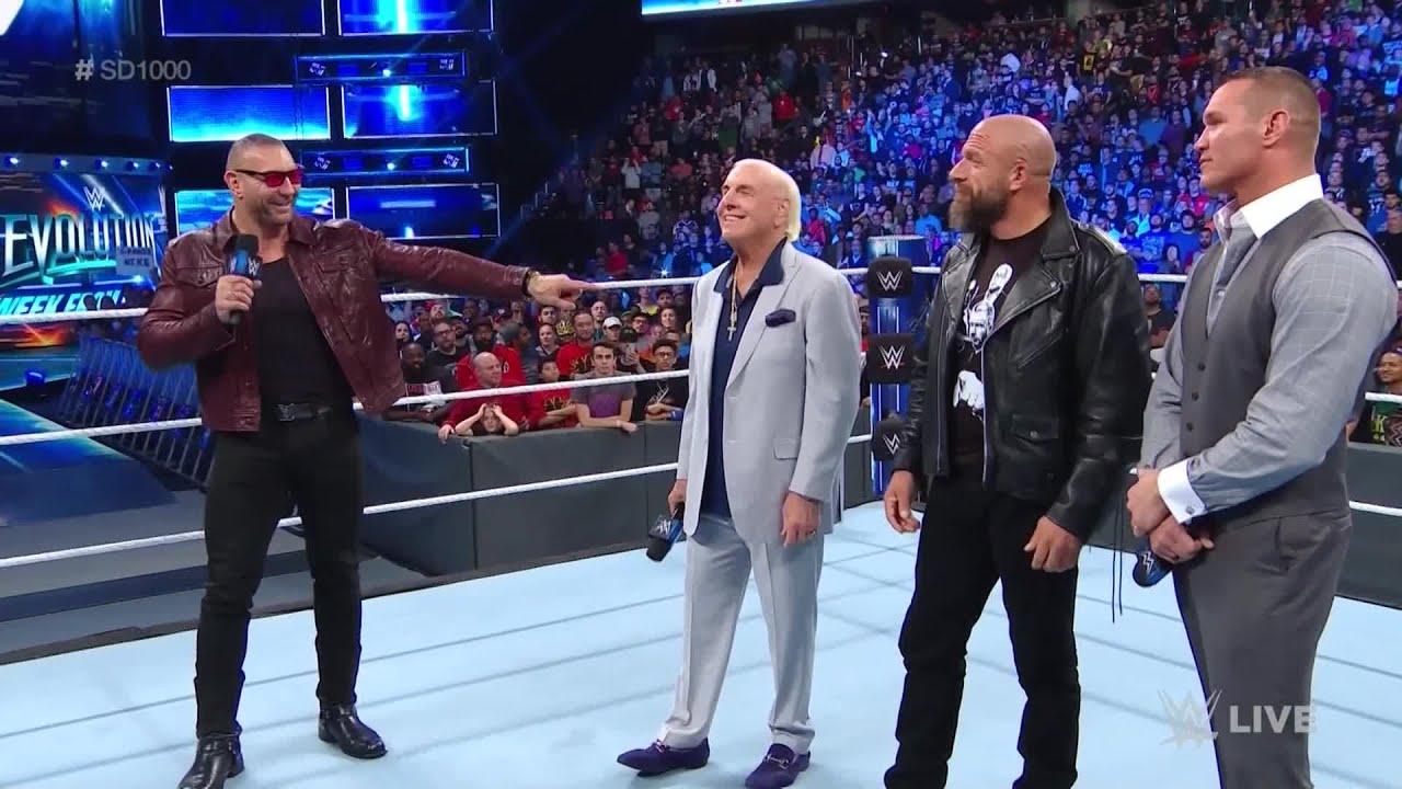 WWE Wal3ooha: فريق إفولوشن يعود في سماكداون 1000